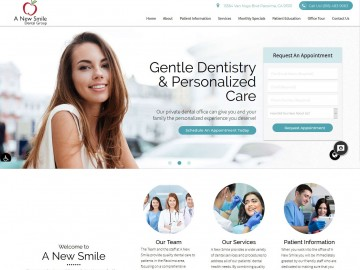 A-New-Smile-Dental-Group portfolio
